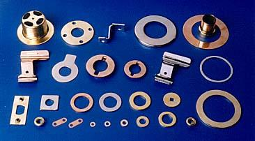 Brass Pressed Parts Pressed Components Brass Copper Washers Stainless Steel S.S. Vulcanized  Red Fibre Washers Brass Pressings Pressed Components Parts Washers